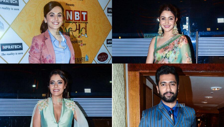 Kajol, Anushka Sharma, Taapsee Pannu At The 'NBT Utsav Award 2019'
