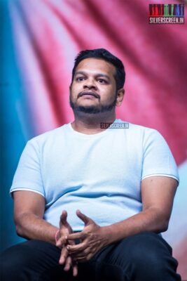 M Ghibran At The 'Kadaram Kondan' Press Meet