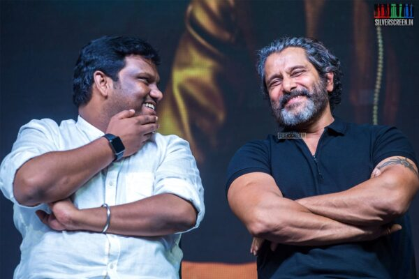 Vikram, Rajesh M Selva At The 'Kadaram Kondan' Press Meet