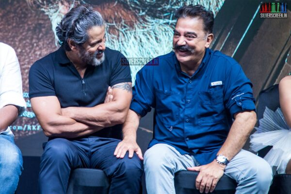 Kamal Haasan, Vikaram At The 'Kadaram Kondan' Press Meet