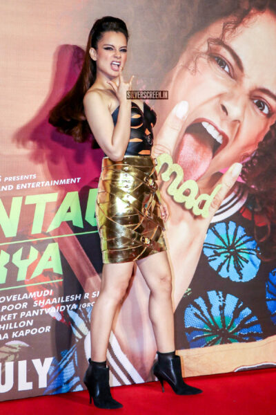 Kangana Ranaut At The 'Judgemental Hai Kya' Trailer Launch