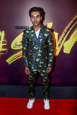 Rajkummar Rao At The 'Wakhra Swag' Song Launch From JudgeMental Hai Kya