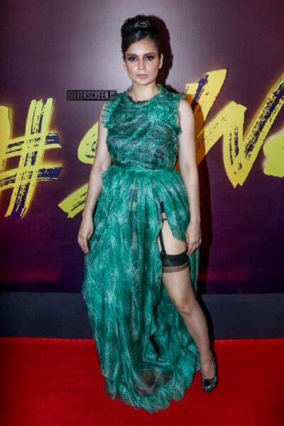 Kangana Ranaut At The 'Wakhra Swag' Song Launch From JudgeMental Hai Kya