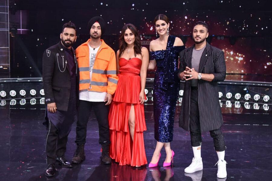 Kriti Sanon, Diljit Dosanjh, Kareena Kapoor Promote 'Arjun Patiala' On The Sets Of Dance India Dance