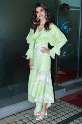 Kriti Sanon Promotes 'Arjun Patiala'