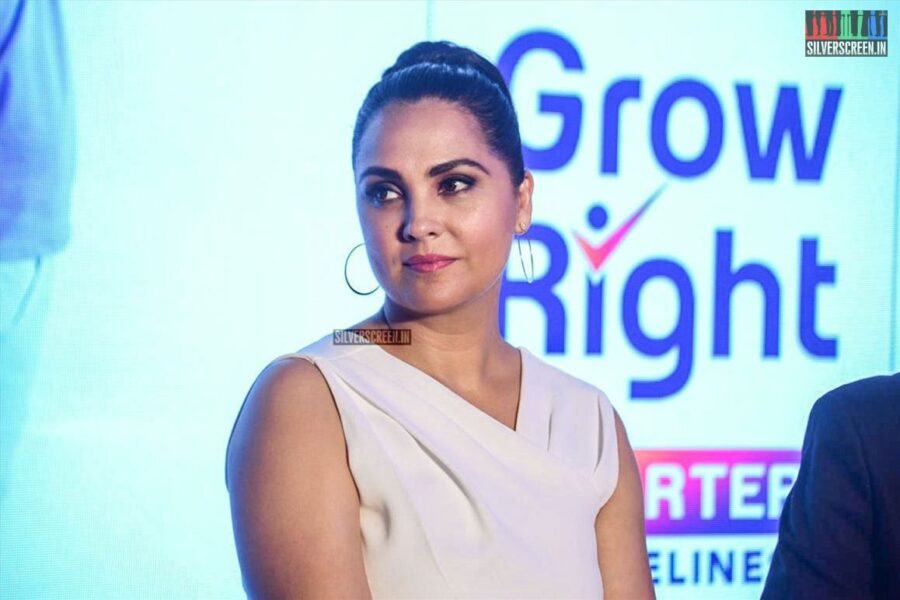 Lara Dutta At The Launch of Abbott Nutrition's Health Programme