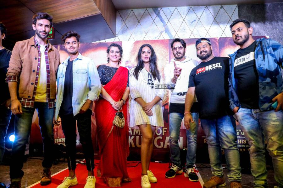 Mahie Gill At The 'Family Of Thakurganj' Premiere