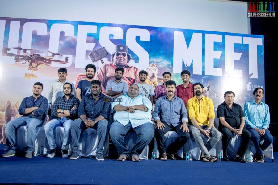 Celebrities At The 'Gurkha' Success Meet