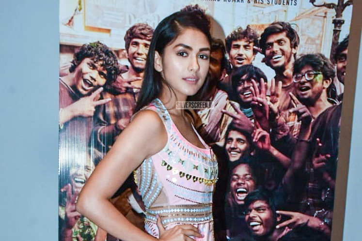 Mrunal Thakur At The 'Super 30' Success Meet