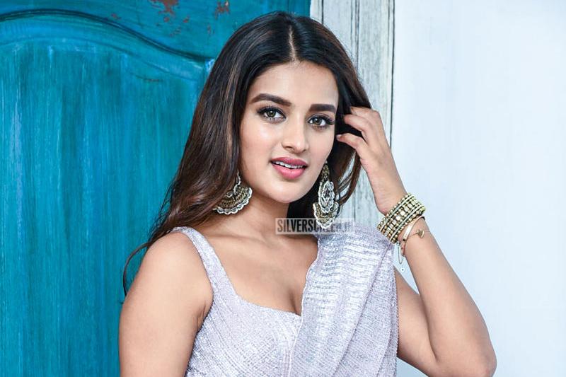 Nidhhi Agerwal Promotes 'iSmart Shankar'
