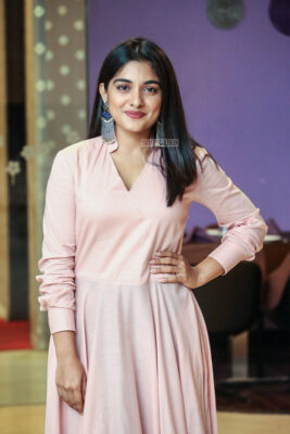 Nivetha Thomoas At The 'Brochevarevarura' Success Meet
