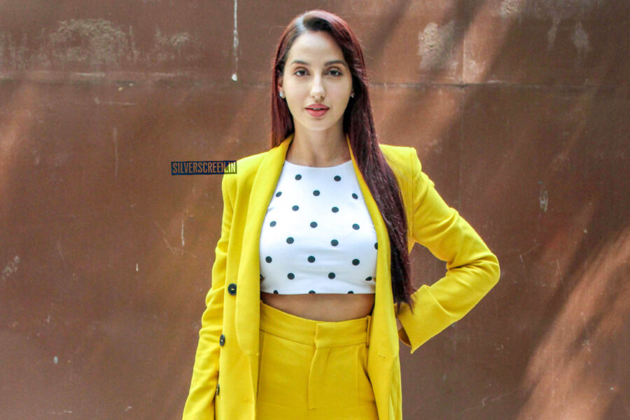 Nora Fatehi promotes 'O Saki Saki' Song From 'Batla House'