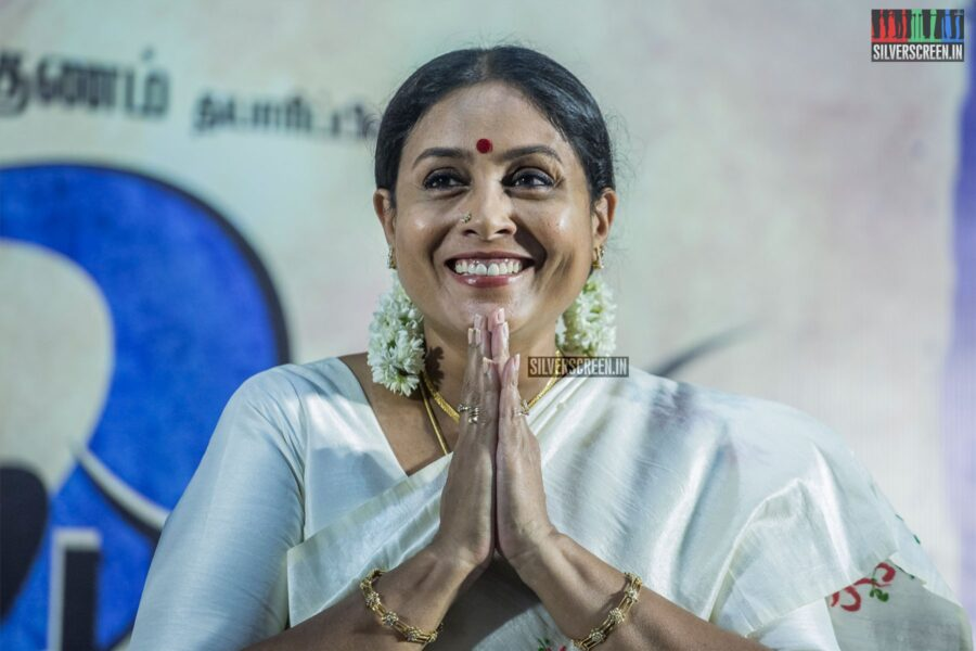 Saranya Ponvannan At The 'Kalavani 2' Press Meet