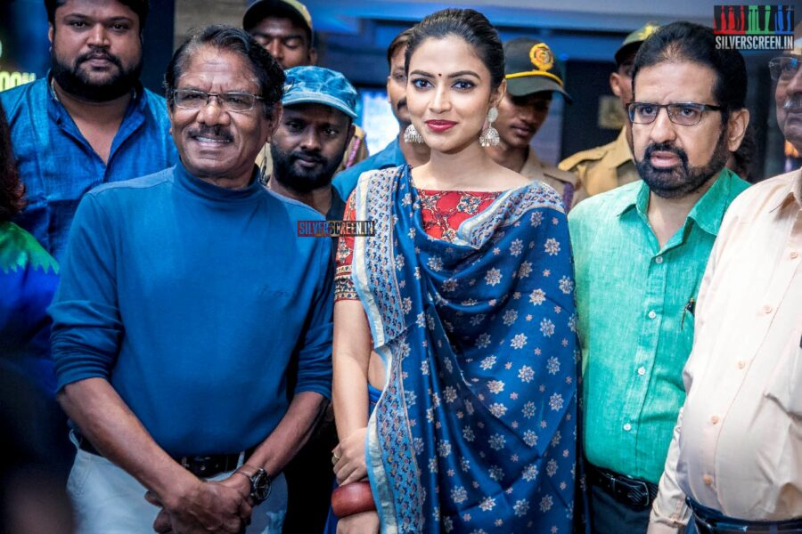 P Bharathiraja, Amala Paul At The Inauguration Of Dr KCG Verghese International Film Festival