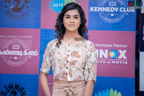 Meenkahsi At The 'Kennedy Club' Audio Launch