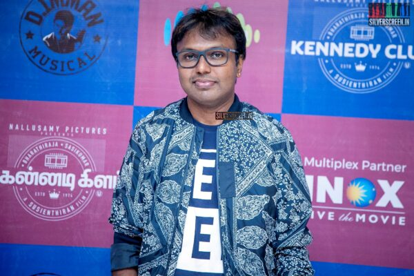 D Imman At The 'Kennedy Club' Audio Launch