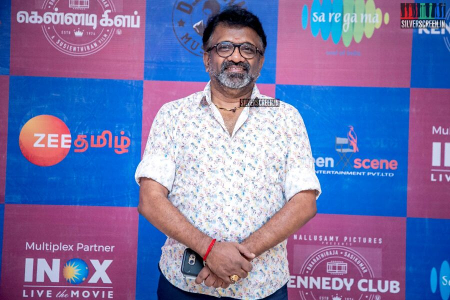T Siva At The 'Kennedy Club' Audio Launch