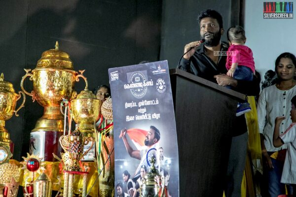 Suseenthiran At The 'Kennedy Club' Audio Launch