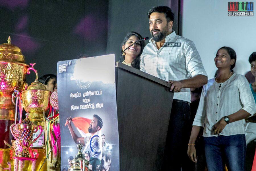 Sasikumar At The 'Kennedy Club' Audio Launch
