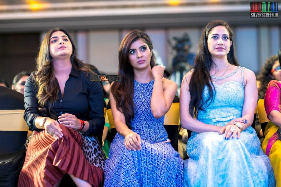Amritha Aiyer, Manjima Mohan At The SIIMA Press Meet