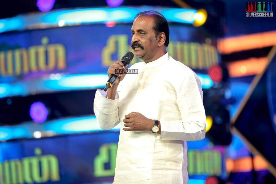 Vairamuthu At The 'Kaappaan' Audio Launch