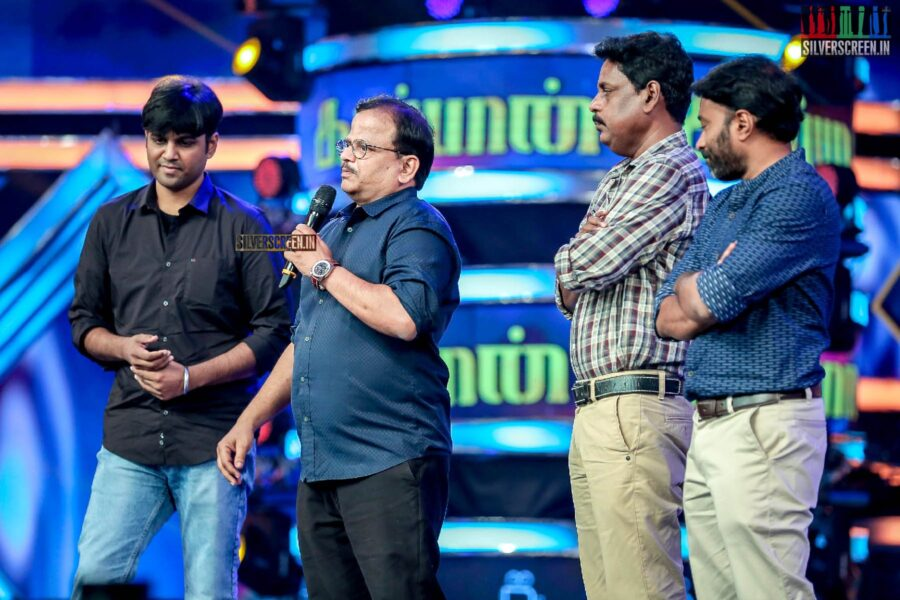 KV Anand At The 'Kaappaan' Audio Launch
