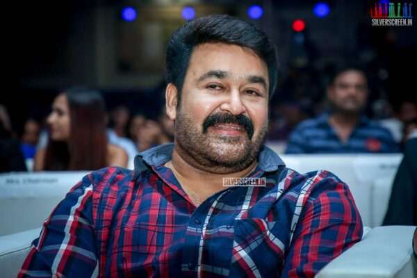 Mohanlal At The 'Kaappaan' Audio Launch