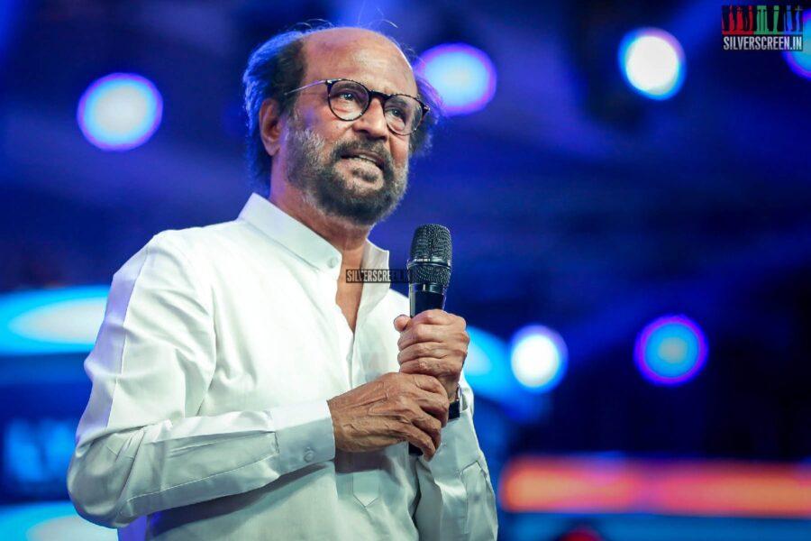 Rajinikanth At The 'Kaappaan' Audio Launch