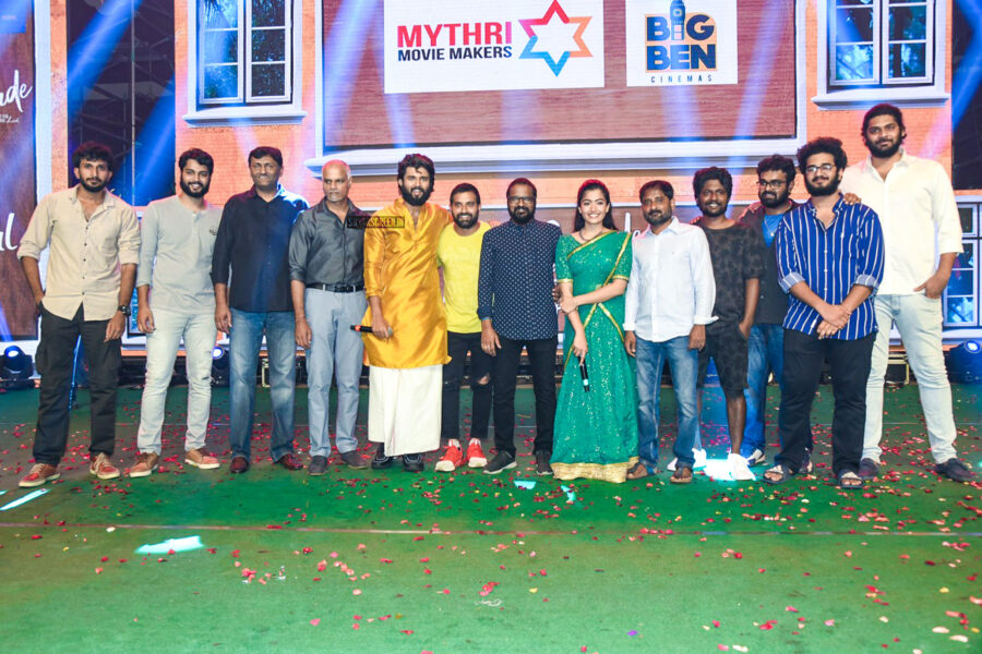 Rashmika Mandana At The 'Dear Comrade' Music Festival