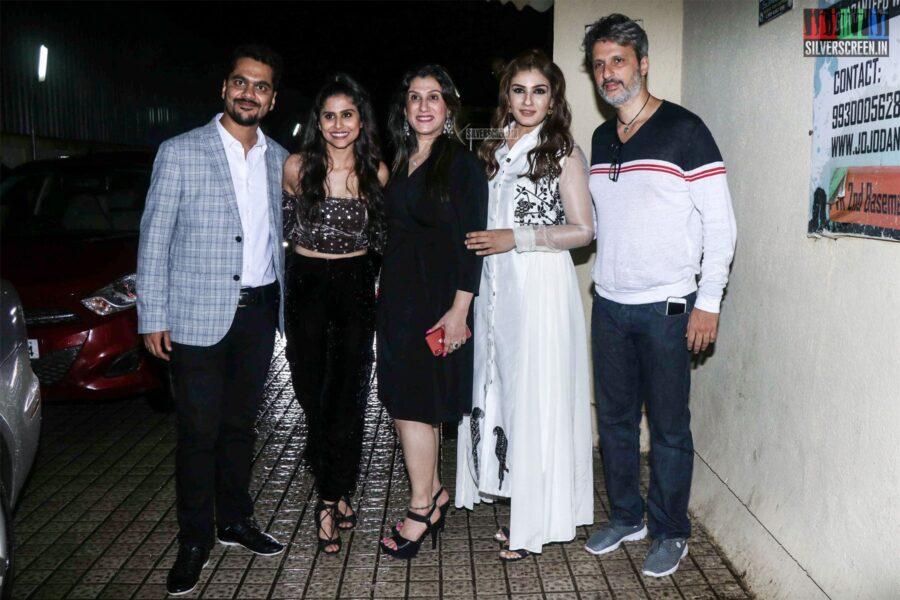 Raveena Tandon At The Girlfriend Premiere