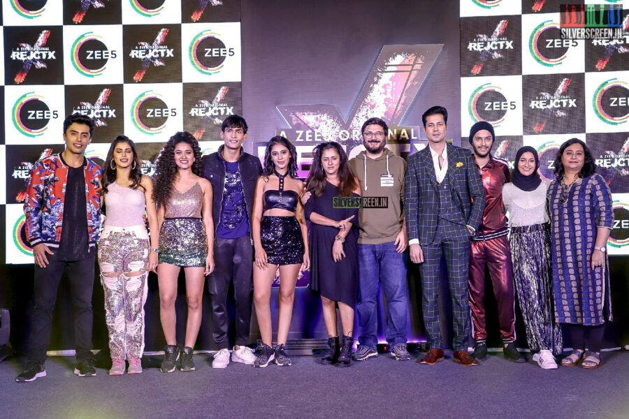 Celebrities Promote Zee5's Web Series Rejctx