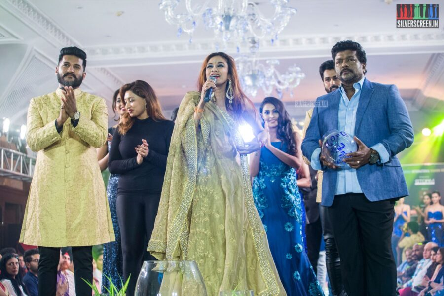 R Parthiban At The Chennai International Fashion Week - Day 1