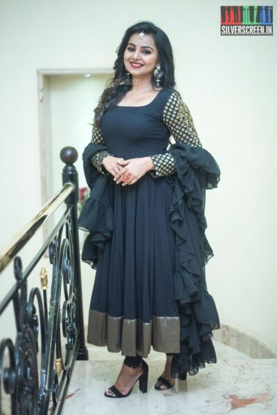 Mrudula Murali At The Chennai International Fashion Week - Day 1