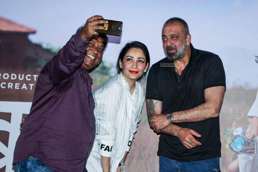 Sanjay Dutt At The 'Baba' Trailer Launch