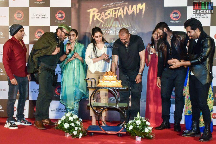 Sanjay Dutt, Jackie Shroff At The 'Prasthanam' Teaser Launch