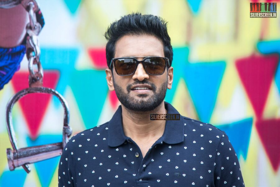 Santhanam At The 'A1' Press Meet