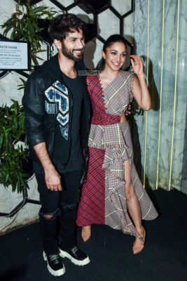 Shahid Kapoor, Kiara Advani At The 'Kabir Singh' Success Meet