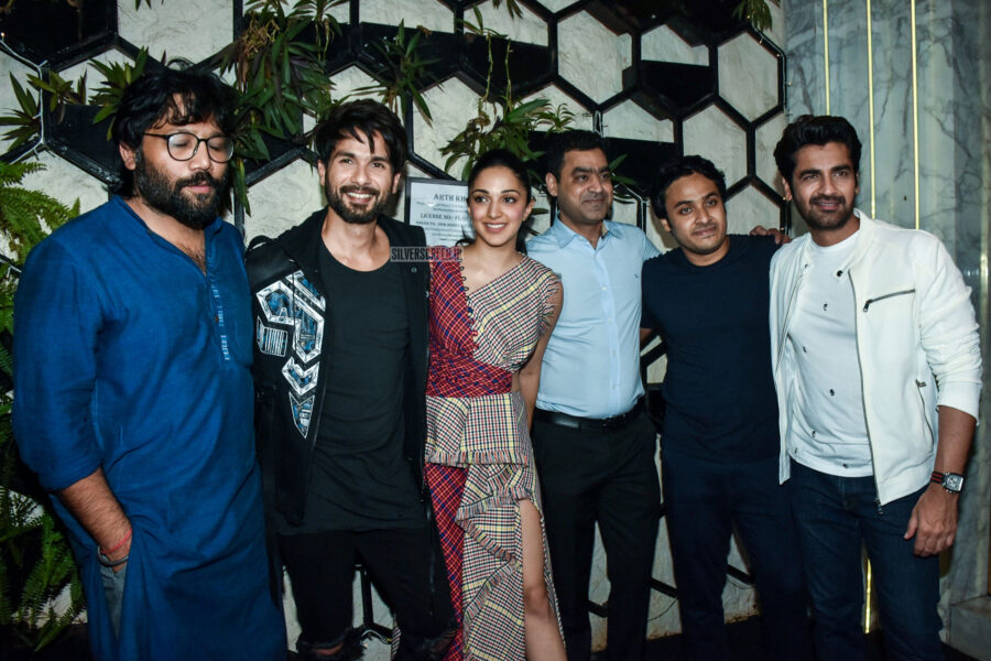 Shahid Kapoor, Kiara Advani At The 'Kabir Singh' Success Meet