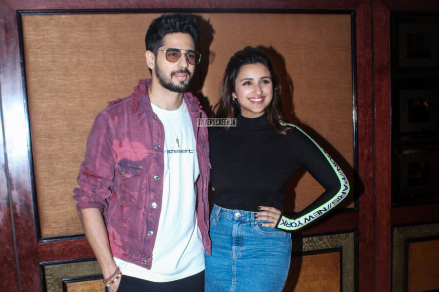 Sidharth Malhotra And Parineeti Chopra Promote 'Jabariya Jodi'