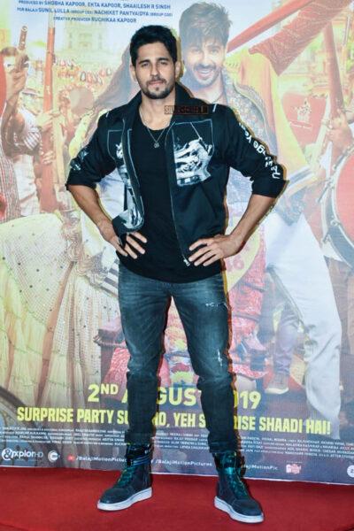 Siddharth Malhotra At The Jabariya Jodi Trailer Launch