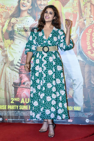 Parineeti Chopra At The Jabariya Jodi Trailer Launch