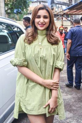 Parineeti Chopra At 'Zilla Hilela' Song Launch From 'Jabariya Jodi'