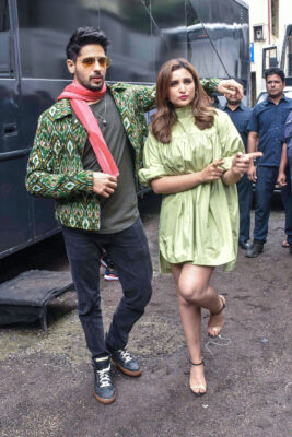 Sidharth Malhotra & Parineeti Chopra At 'Zilla Hilela' Song Launch From 'Jabariya Jodi'