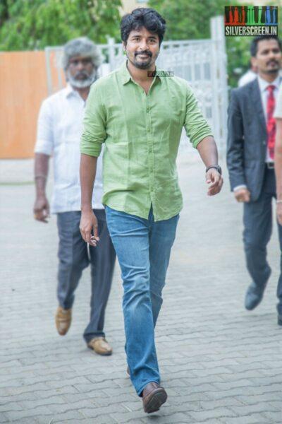 Sivakarthikeyan At The 'Nenjamundu Nermaiyundu Odu Raja' Success Meet