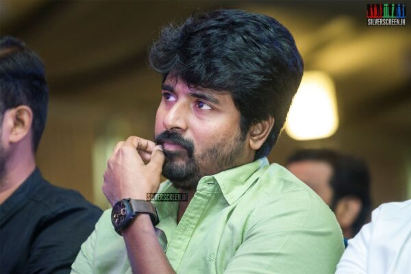 Sivakarthikeyan At The 'Nenjamundu Nermaiyundu Odu Raja' Success Meet