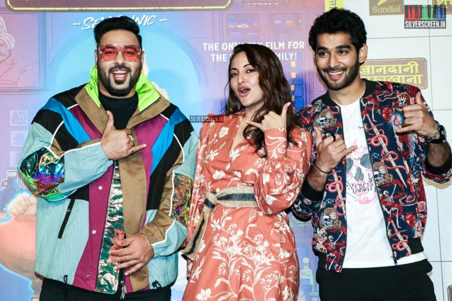 Sonakshi Sinha & Badshah At A Song Launch From 'Khandaani Safakhana'