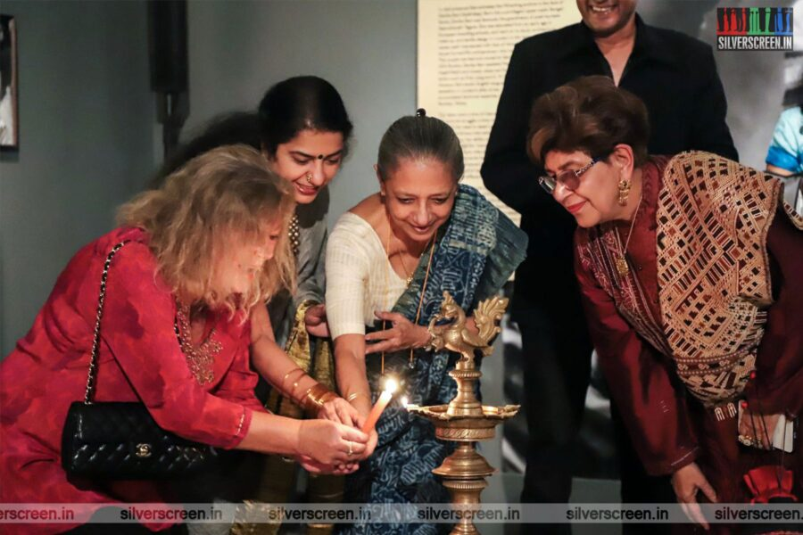Suhasini At The 'Exhibition & A Cinematic Imagination: Josef Wirsching And The Bombay Talkies'