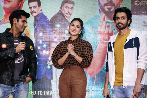 Sunny Leone At The 'Jhootha Kahin Ka' Song Launch