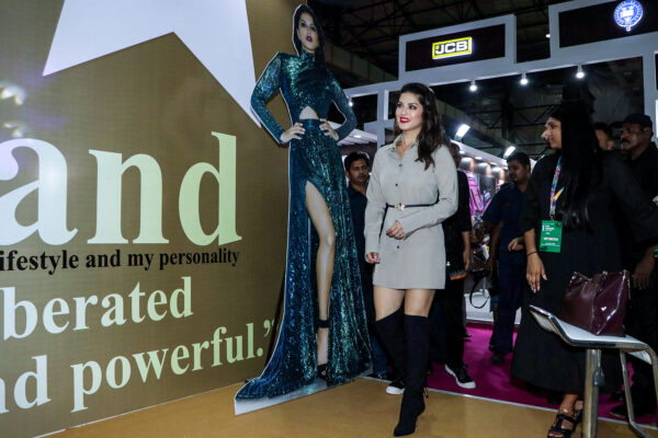 Sunny Leone At The Launch Of Her Fashion Brand at The India Licensing Expo 2019
