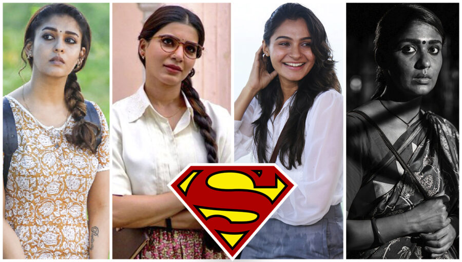 Ms  En Scene: When Seven Tamil Cinema Women Turn Superheroes